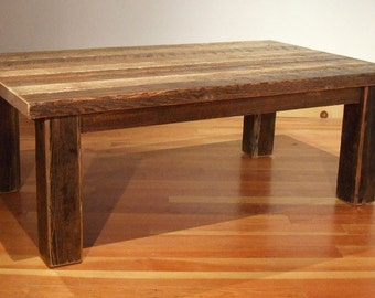 Reclaimed barn wood Rustic Heritage Coffee Table2 *FREIGHT NOT INCLUDED*