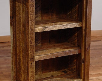 Reclaimed barn wood Rustic Heritage Bookcase Small *FREIGHT NOT INCLUDED*