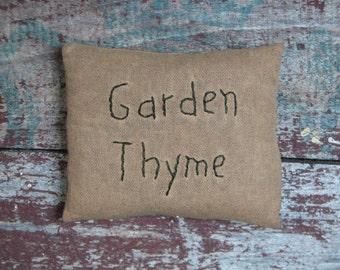 Garden Thyme Pillow
