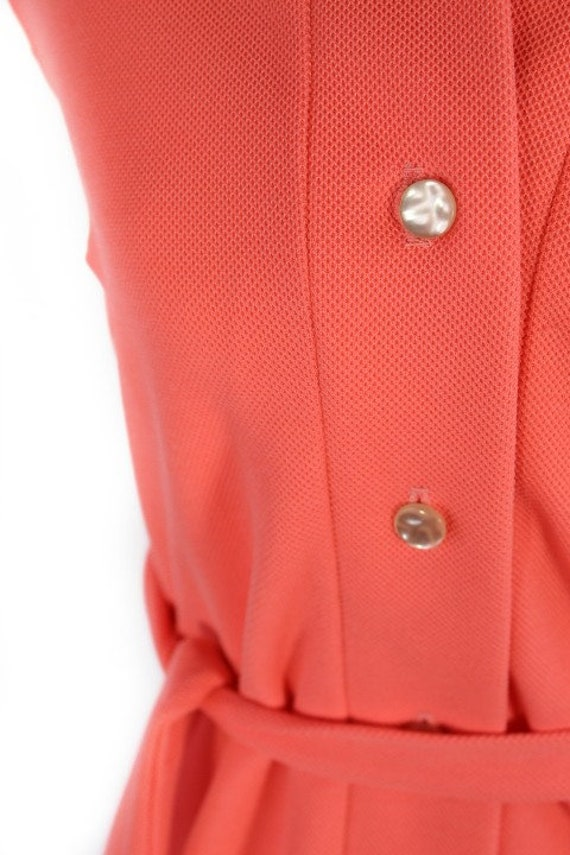 Vintage 1960s Pink LACOSTE Polo Sportswear Dress - image 5