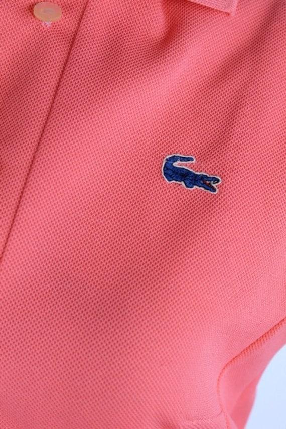 Vintage 1960s Pink LACOSTE Polo Sportswear Dress - image 4