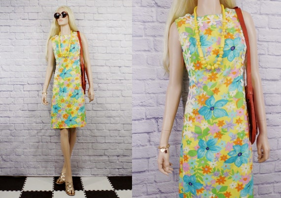 """Vintage 1960s Lilly Pulitzer """"The Lilly"""" Sleeveles"""