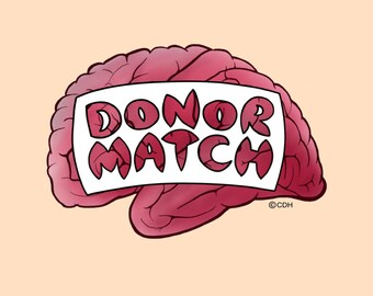Donor Match the Card Game