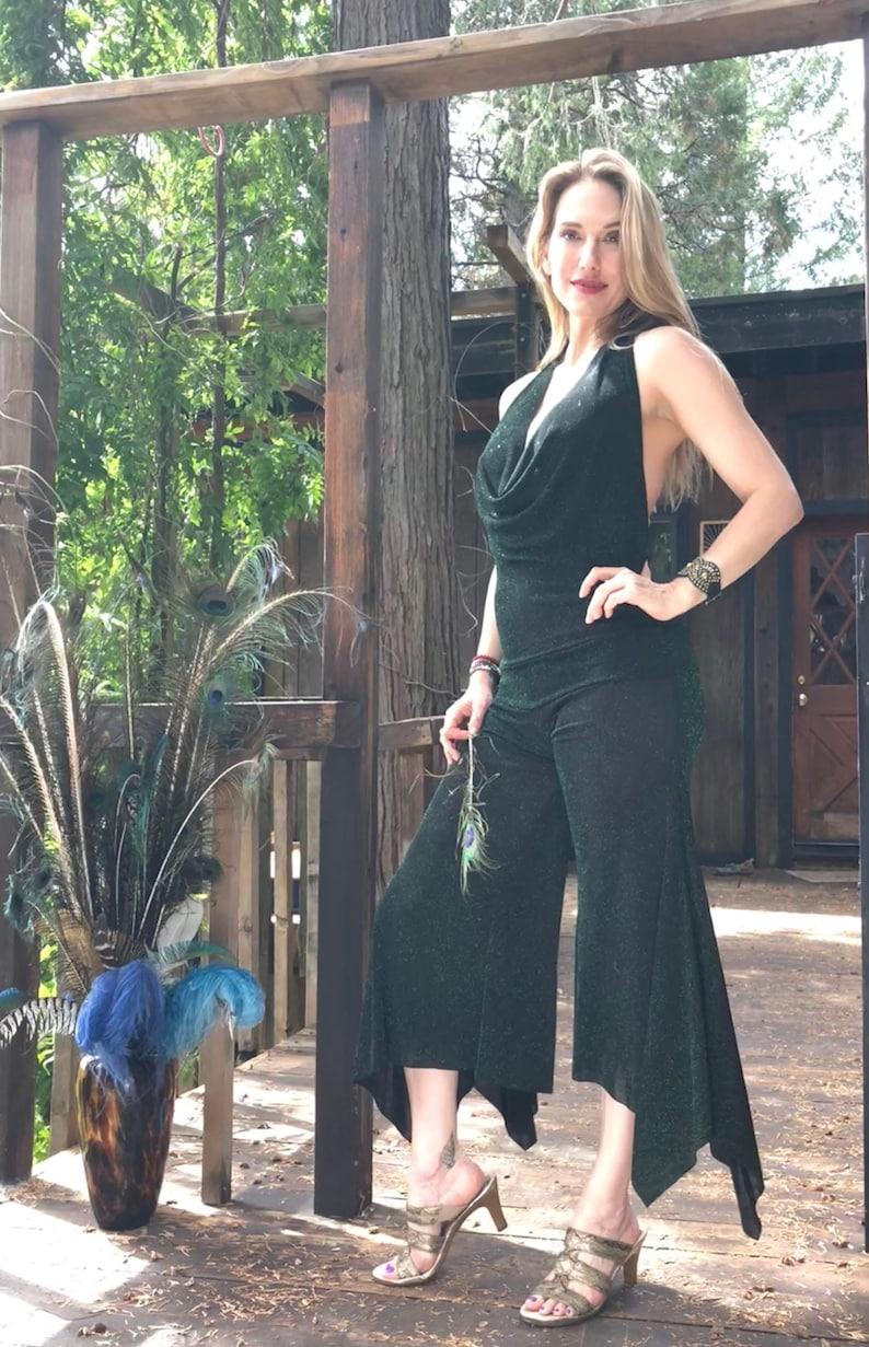 Emerald Sparkle Jumpsuit image 0