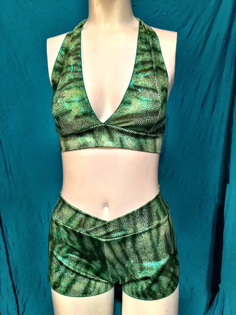 Mermaid bikini  green tigerfish image 0