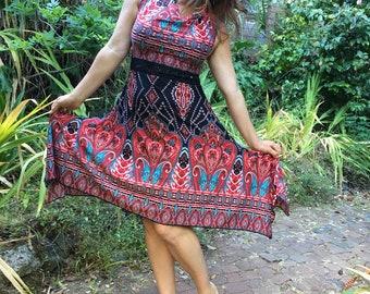 Sweetheart dress - art deco
