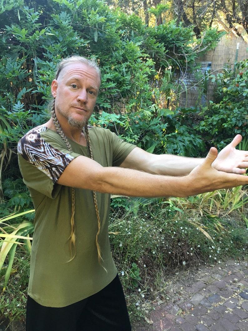 ON SALE Mens T-shirt  olivewood image 0