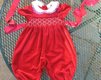 a6ca317a10c3 Vintage Starting Out Romper