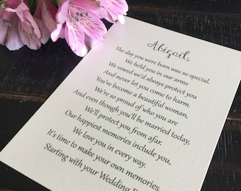 Letters to the bride | Etsy