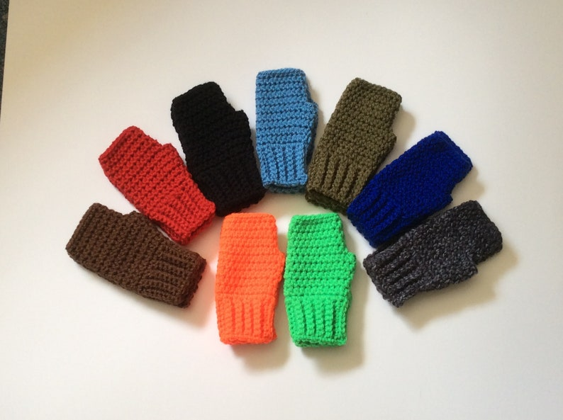 Kids Fingerless Gloves, Boys Mitts, Child Fingerless Gloves, Gaming  Texting, Young Boy Present, Children's Gloves, Family Pictures Props