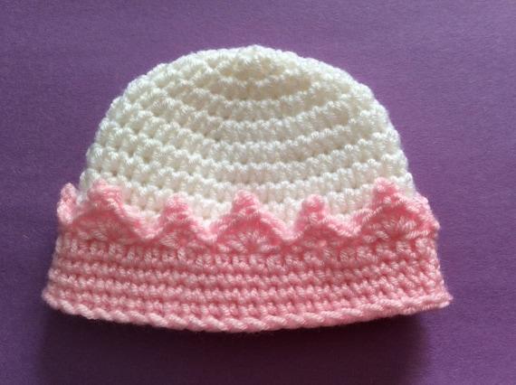 Micro Preemie Hat Crochet Preemie Crown Premie Crown Hat  480341b50c0