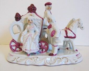 Vintage Cinderella Princess Pink And White Room Decor Girls Bedroom Ideas Horse Drawn Coach Carriage Home Bookshelf