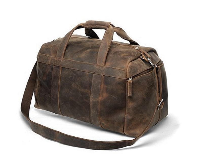 f4e9d261cd Handmade Buffalo Leather Gym Bag   Sports Bag   Duffel