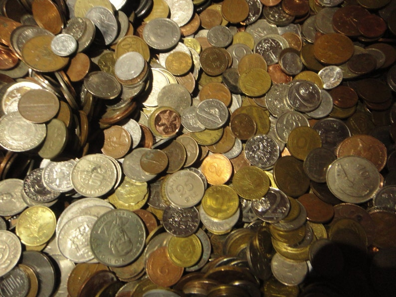 50 Different Foreign Coins For Collecting School Projects image 0