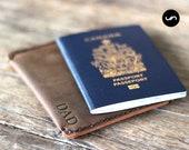 PERSONALIZED Passport Wallet, Passport Holder, Sleeve Minimalist Design, Leather Passport Wallet Sleeve, Wallet, Gift, Travel Wallet #081