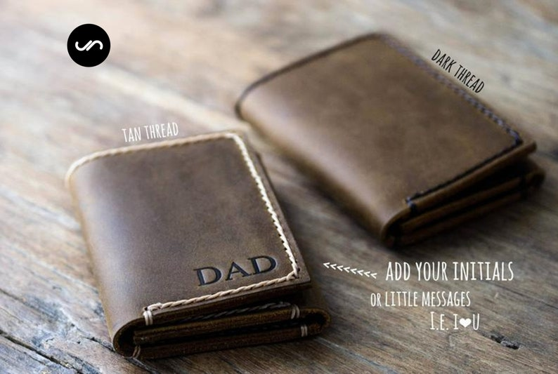 TRIFOLD WALLET Mens Trifold Wallet Mens Leather Trifold image 0