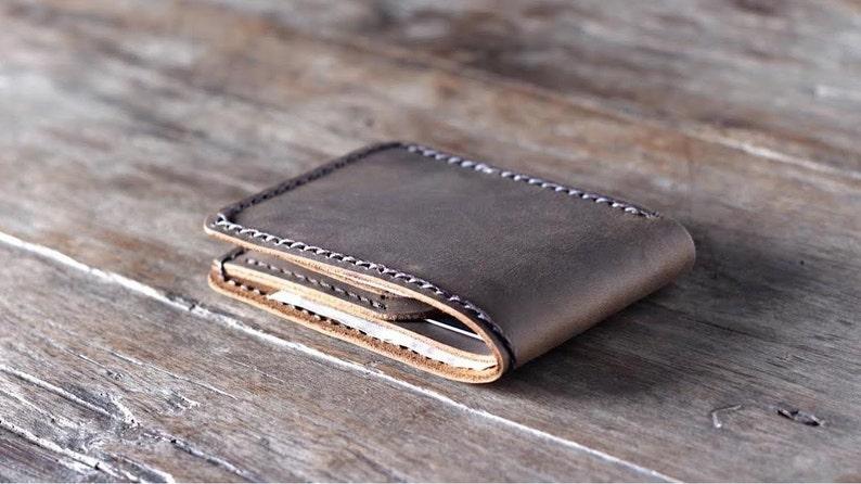 e9c51652362c Minimalist Wallet Gift Ideas for Men Leather Wallet