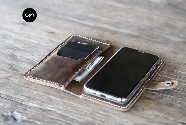 iPhone 11 Pro Max Case Wallet iPhone X Max Case Leather image 0