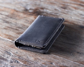 iPhone 7 Leather Case Wallet Personalized, iPhone 7 PLUS, SE, iP6, iP5, etc. Wallet, iPhone Leather Case Wallet, iPhone Wallets #055