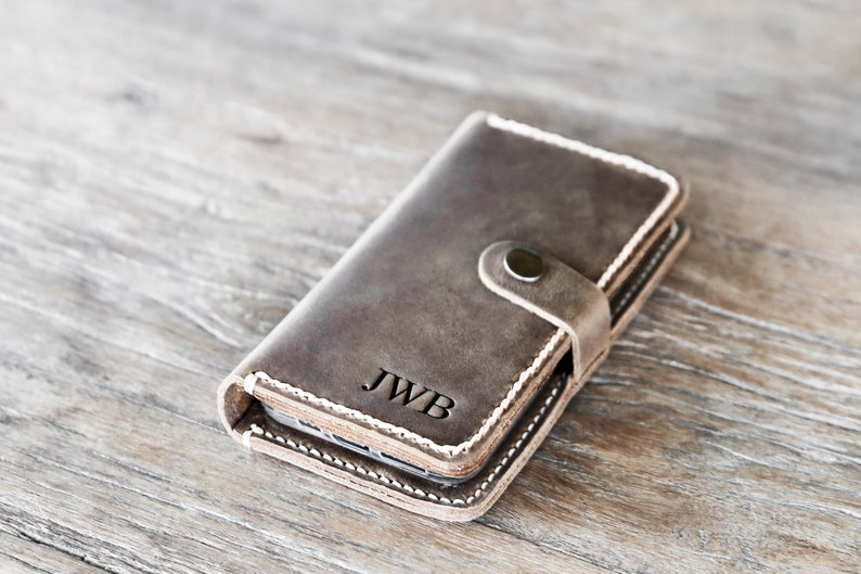 iPhone 11 Pro Max Case Wallet iPhone Xs Max Case Leather image 0