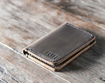 Handmade Leather Wallet Uniquely Crafted and Personalized by JooJoobs #051