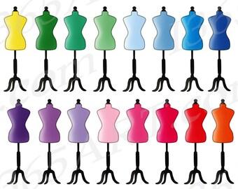 Dress Form Clip Art Etsy