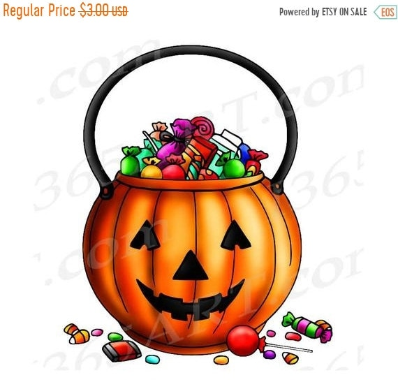 50% OFF Halloween Clipart Trick Or Treat Clipart Trick Or ...