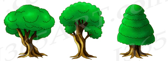 50 off tree clipart tree clip art green forest clipart etsy rh etsy com forest clipart backgrounds free forest clipart backgrounds free
