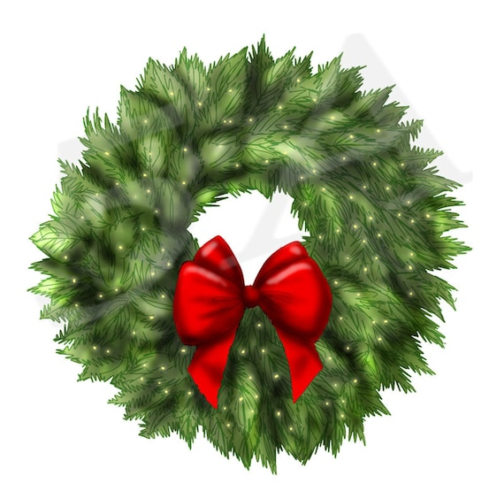 Christmas Wreath Clipart.50 Off Christmas Wreath Clipart Clip Art Wreath Clipart Xmas Wreath Holiday Wreaths Diy Gift Cards Christmas Decorations Png