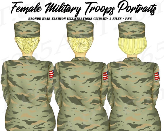 Military soldier printable digital clipart png set for instant | Etsy