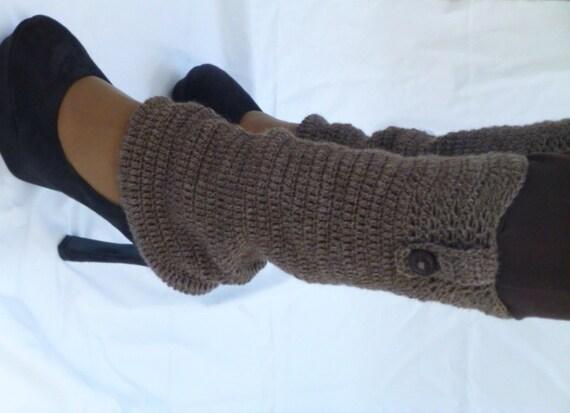 Haak Wol Beenwarmers Wollen Sokken Manchetten Voor Laarzen Etsy
