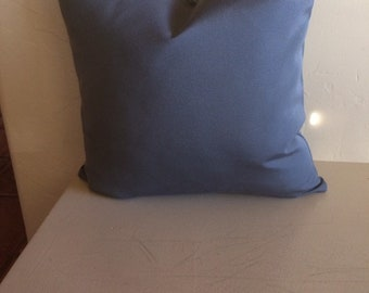Sunbrella canvas charcoal grey pillow cover, out door pillow, cushion covers, custom sizes available .