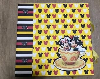 Mickey & Minnie Mini Scrapbook Just add pics