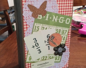 Paper bag style scrapbook Complete Vintage country Dime store theme