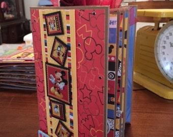 Disney Vacation Mini Paper Bag Album Autograph Book Complete Just add Pics