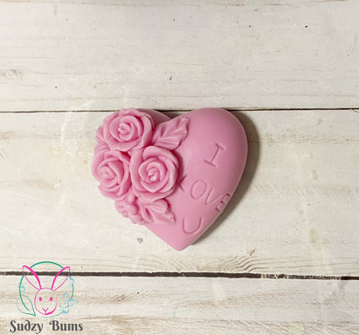 I Love You Heart Soap Favors