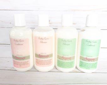 Natural Conditioner - non-toxic conditioner , deep conditioning cream, vegan conditioner, argan oil conditioner, chia seed oil, oats