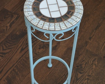 Green Accent Table | Etsy