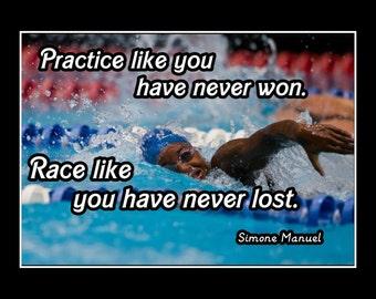 Swim Quotes | Swimming Quotes Etsy