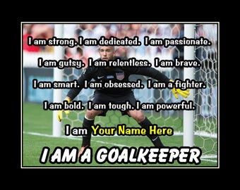 96d3cb8a0 Personalized Soccer Motivation Quote Poster