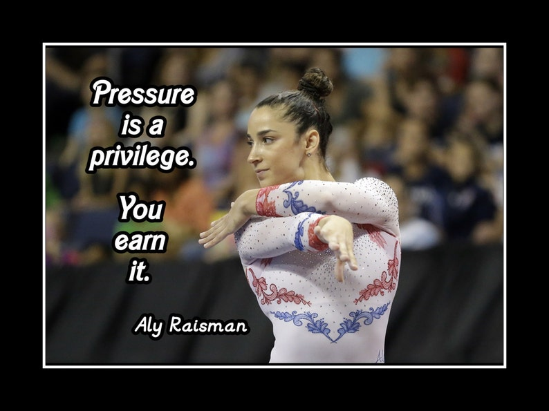 Inspirational Gymnastics Quote Wall Art Photo Poster Gift Etsy
