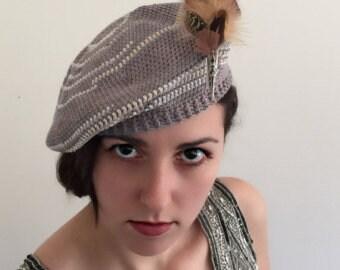 CROCHET PATTERN - All Seasons Hat - Beret - Beanie hat