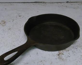 Wagner cast iron pan