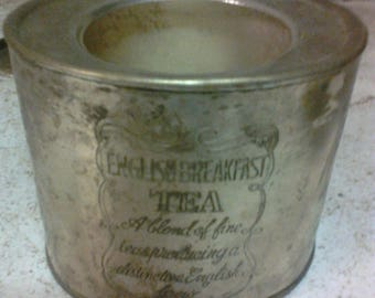English Breakfast Tea canister