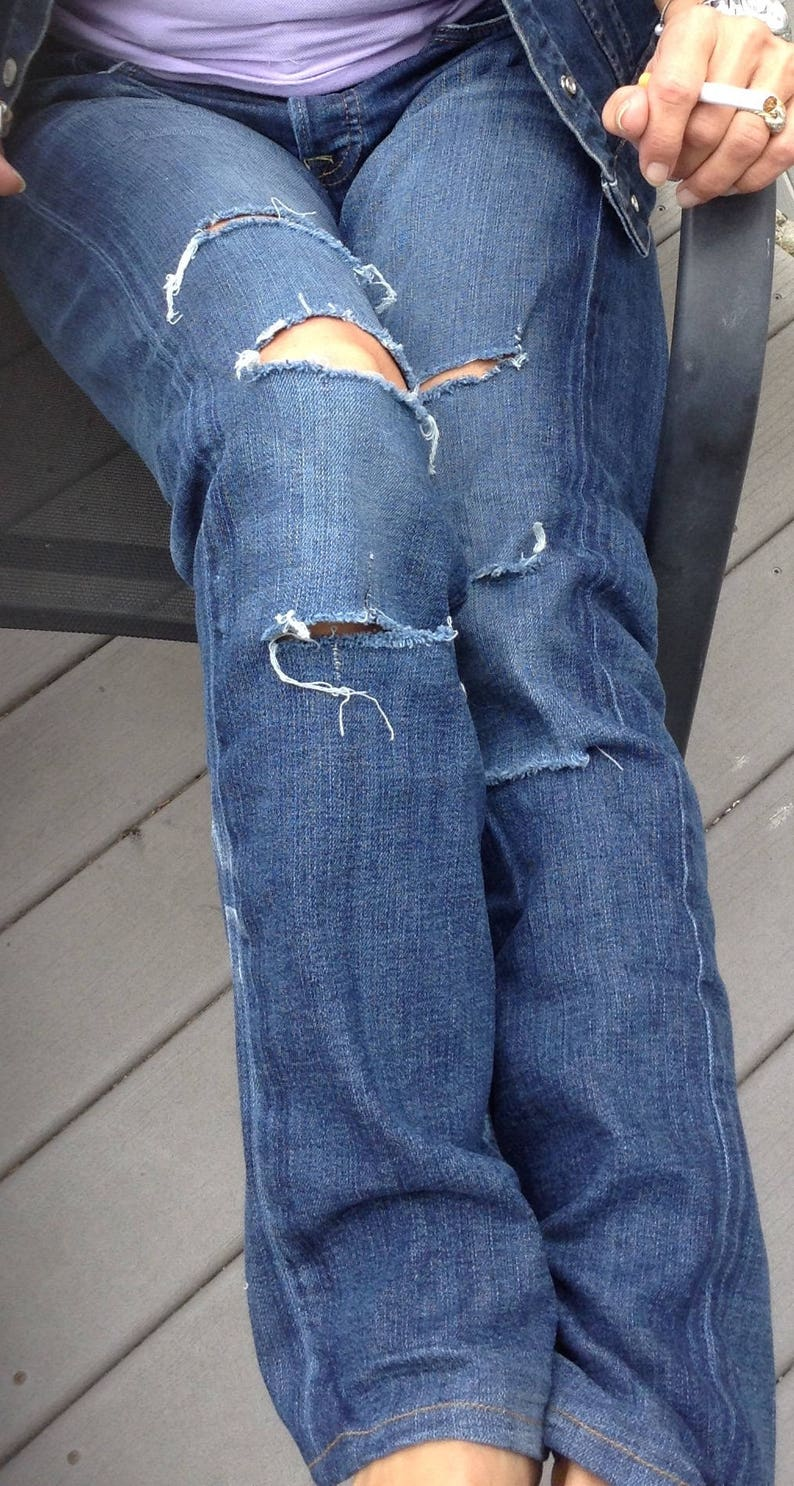 Womens Jeans sz 6 Lucky Distressed Jeans Jeans sz 28 Lowrise Lucky Jeans Ripped Lucky Jeans men sz 4030 Straight Leg Jeans