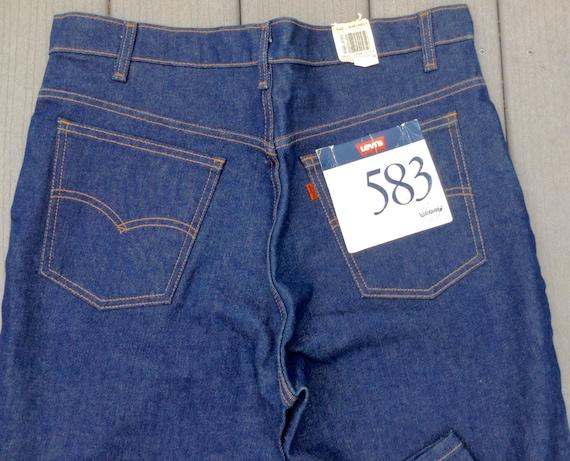 Levi Jeans- Vintage Levi Jeans- Deadstock Levi Jea
