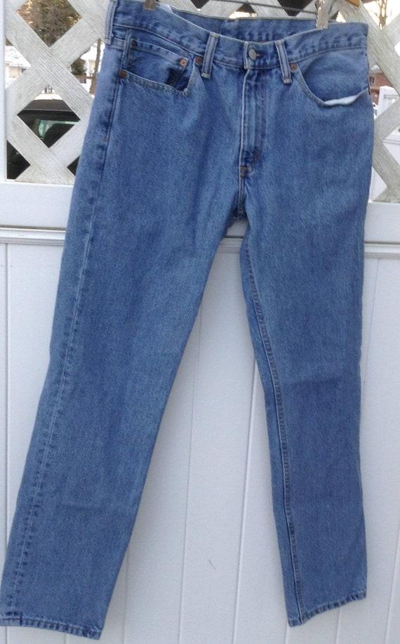 "Vintage Levi jeans sz 34""/32""- Distressed Levi Jea"