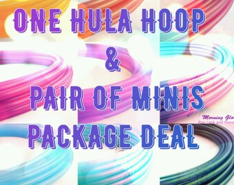 Colored Polypro or HDPE Hoop and Minis Package
