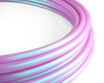 "Polypro Hula Hoop 5/8"" Third Eye Purple // Customizable// Light Weight//Trick Hoop//Dance Hoop"