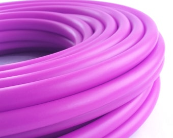 UV Fuchsia 3/4 HDPE Hula Hoop// Customizable// Light Weight//Trick Hoop//Dance Hoop